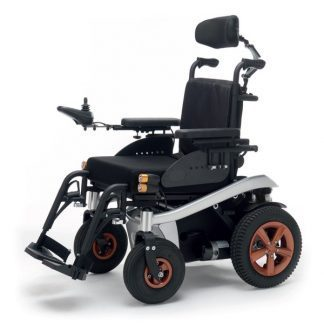 K-SPEEDY - Ergonomic power wheelchair with adjustable seat and headrest