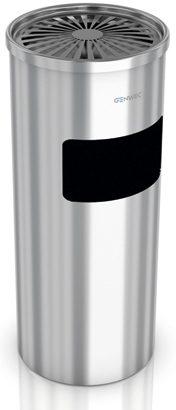 Floor Standing Ashtray Bin Stainless Steel Polished
