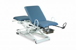 Electric gynecological examination table - 3 sections - Scissor lift - Trendelenburg