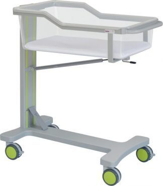 Infant bed with wheels for neonatology - Trendelenburg - 90x47x97 cm