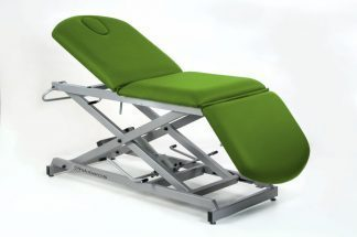 Hydraulic examination chair - 3 sections - Scissor lift