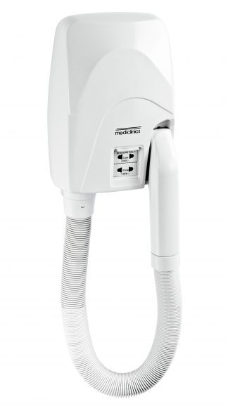 Hairdryer customised for intensive use - automatic start - 3 speeds