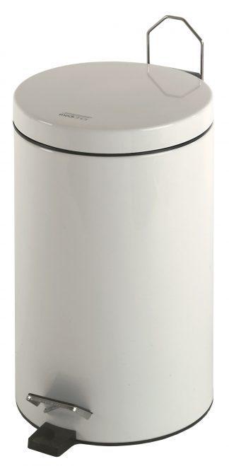 Cylinder shaped waste basket with pedal - 20 Litres