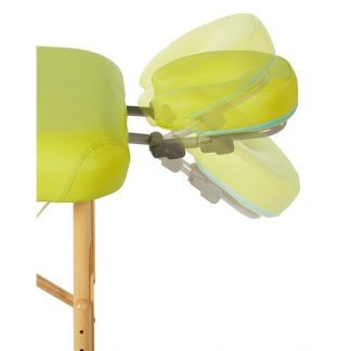 Face pillow for massage tables - With mount for massage table