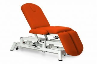 Hydraulic examination chair - 3 sections with armrests and individual legrests