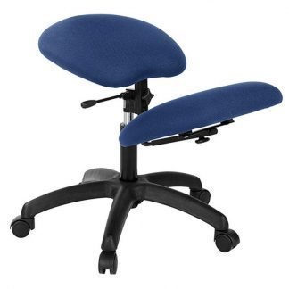 Knee chair with black base - Adjustable knee support