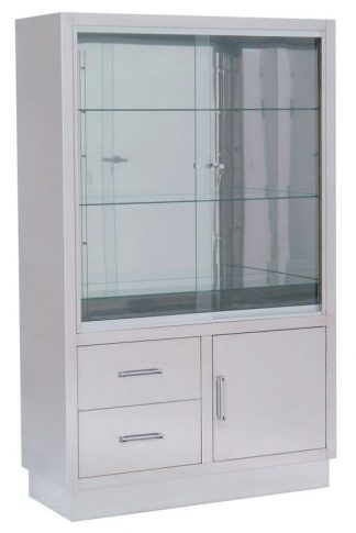Instrument cabinet - 100x40x160 cm - 3 bottom drawers