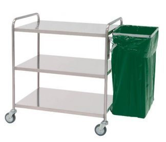 Clothing trolley with side-table (Not including bag)
