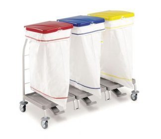 Clothing trolley - 3 x 70 Litres polyester bag
