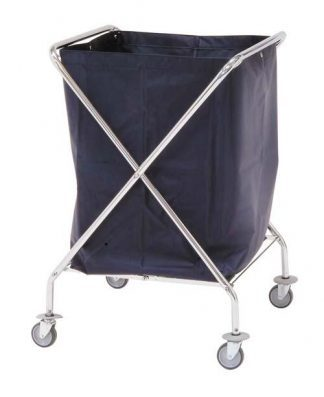 Foldable clothing trolley