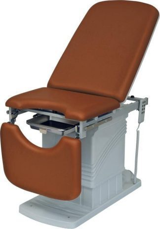 Electrical gynecological examination chair