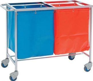 Clothing trolley - 100x50x80 cm - 2 baskets