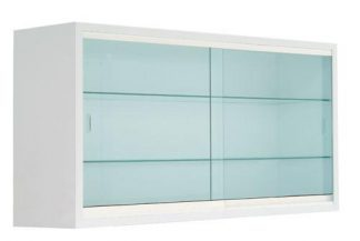 Wall mounted instrument cabinet - 120x30x60 cm - White coated
