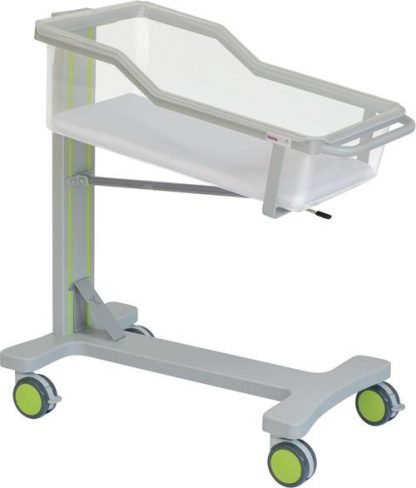 Infant bed with wheels for neonatology - Trendelenburg - 90x47x97 cm