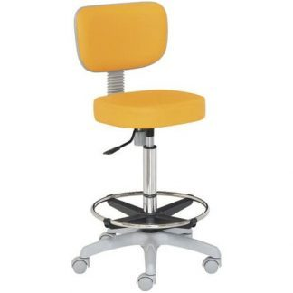 Chair with backrest - Foot support - PVC base