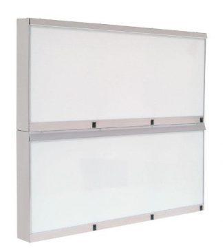 Cabinet - 110x10x96 cm - 6 fluorescent lighting - Stainless steel