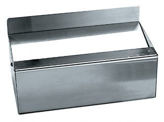 Ashtray made out of stainless steel (AISI 304) - Large model