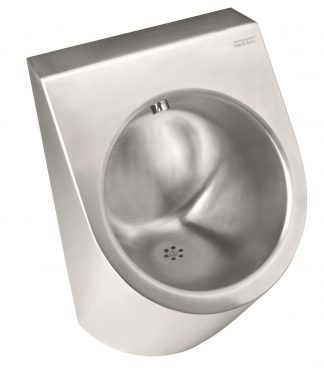 Urinal made out of stainless steel - 36 x 32,5 x 55 cm