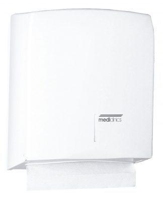 Paper dispenser for C / Z folded paper towels