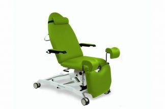 Electrical gynecological examination chair with armrests and 2 motors and Trendelenburg
