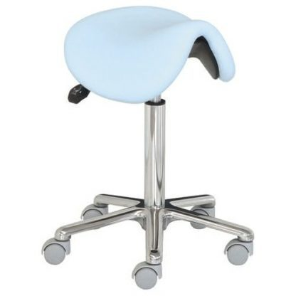 Saddle chair - Aluminium base