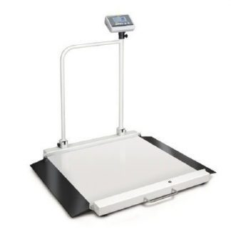 Wheel chair scale with ramp - Class III - Max 300 kg