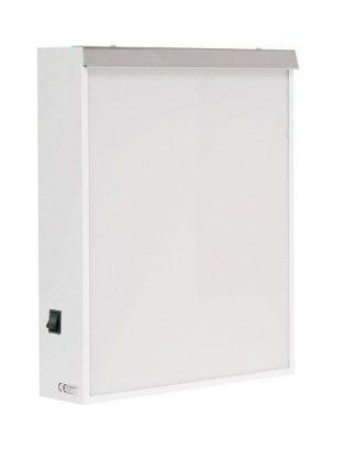 Cabinet - 38x10x48 cm - 1 fluorescent lighting