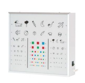 Illuminator cabinet for vision test - Children
