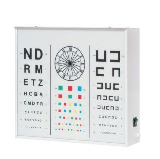 Illuminator cabinet for vision test - Adults