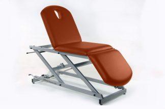 Hydraulic examination chair - 3 sections - TwinPillar-lift
