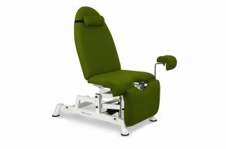 Electrical gynecological examination chair with 2 motors and Trendelenburg