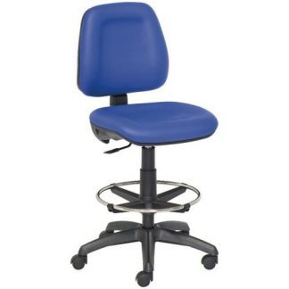 Chair with foot and backrest - Nylon base