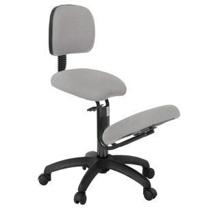 Ergonomical knee chair with backrest - Sitting width 40 cm