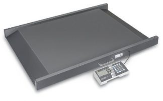 Wheel chair scale with ramp - Class III - Can be used with batteries - Max 400 kg