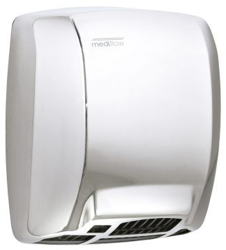 Mediflow® - Hand dryer with button