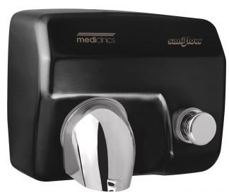 Saniflow® - Hand dryer with button - 248x278x212 mm