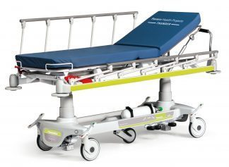Multifunctional patienttrolley for emergency care