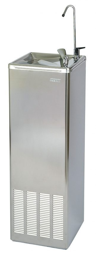 Drinking fountain with cooler - Bottle refill - Standing unit