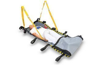 Transport system for non-traumatic patients with protected and assisted lifting