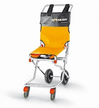 Evacuation chair with 2 or 4 wheels - Compact and foldable