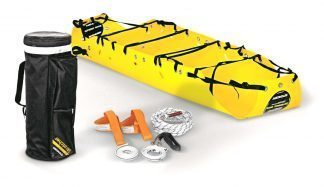 Flexible and compact recovery stretcher - Packed in backpack