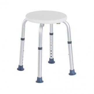 Round shower chair