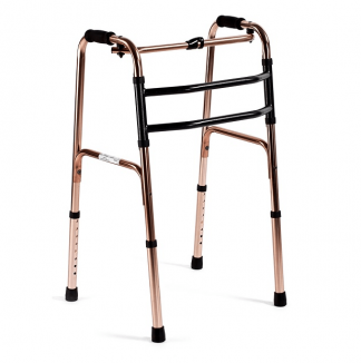 Foldable walking frame