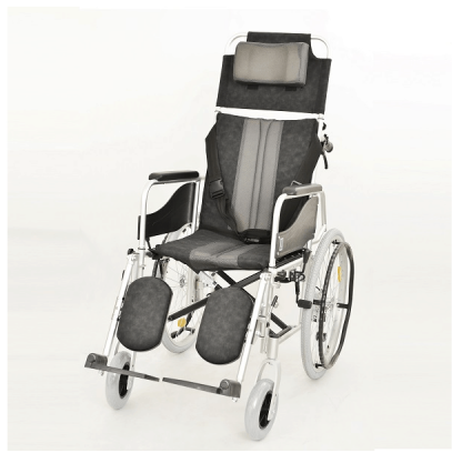 Foldable wheelchair made out of aluminium - For people with neurological disease