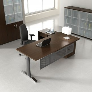 ERGONOMIC MASTER - Desktop, conference table and cabinets