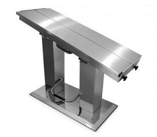 Hydraulic 2 column surgery table with V top