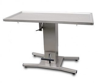 Hydraulic 1 column surgery table with flat top