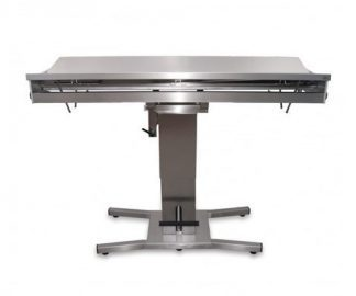 Hydraulic 1 column surgery table with V top