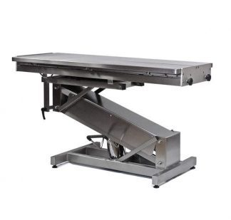 Hydraulic surgery table for veterinarians