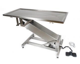 Electric surgery table for veterinarians - Z formed